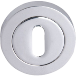 Keyhole Escutcheon Polished Chrome