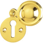 Victorian Brass Covered Escutcheon PB