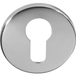 Euro Profile Escutcheon Polished Chrome
