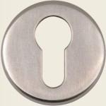 JSS02 Satin Stainless Steel Euro Profile Escutcheon