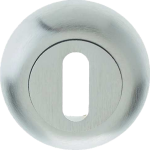 48mm Round Standard Key Escutcheon Satin Chrome