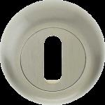 48mm Round Standard Key Escutcheon Satin Nickel