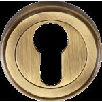 Euro Profile Escutcheon Antique Brass