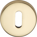 Garda Keyhole Escutcheon Polished Brass