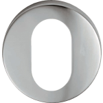 Aluminium Oval Door Lock Escutcheon