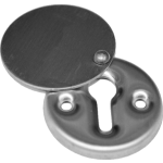 Chubb Covered Door Lock Escutcheon Stainless Steel
