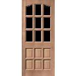 32 x 80 Alicante MT Hardwood Door Unglazed