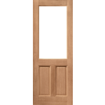 30 x 78 2P-2XG Hardwood Door Unglazed