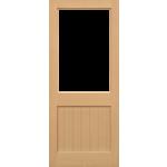 27 x 78 2XG Hemlock Door Unglazed