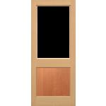 30 x 78 2XG MT Hemlock Door Unglazed
