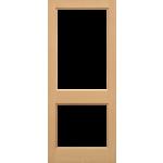 30 x 78 External 2XGG MT Hemlock Door Unglazed
