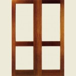 36 x 78 Hemlock 2XGG French Doors Clear Glazed