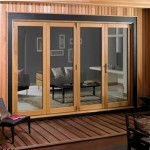 3m x 2.1m Pattern 10 Fully Finished Oak Folding Door Set