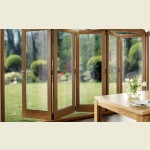3.6m x 2.1m Pattern 10 Fully Finished Oak Folding Door Set
