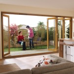 4.8m x 2.1m Pattern 10 Oak Folding Doors