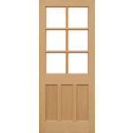 33 x 78 EKXT MT Hemlock Door Unglazed