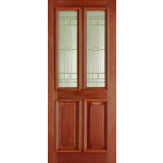 Adoorable Hardwood Derby Elegant Glazed Doors