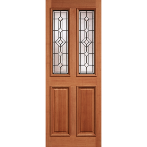 Adoorable Hardwood Derby Leaded Glazed Doors