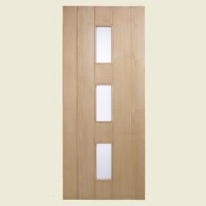Copenhagen Oak Triple Glazed Doors