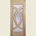 30 x 78 Majestic Oak Double Glazed Door