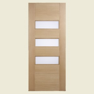 Stockholm Oak Triple Glazed Doors