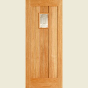 Adoorable Oak Suffolk One Light Glazed Doors