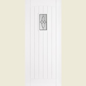 Primed Hardwood Cottage Glazed Doors
