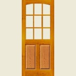 33 x 78 Georgia Unglazed Door