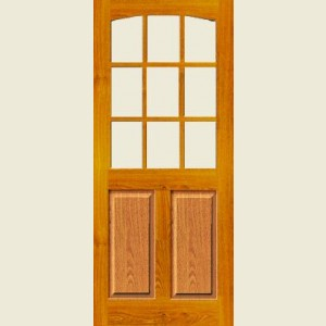 External Georgian Hardwood Doors