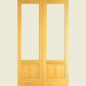 sc 1 st  Top Class Carpentry & 46 x 78 Hemlock E202P French Doors Unglazed