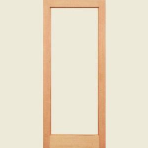 Pattern 10 Hemlock Doors