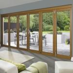4.7m x 2.1m Vista Oak Pattern 10 Folding Doors