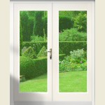 1200mm Softwood French Door Set Pre-Finished White