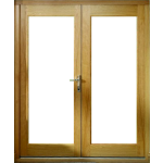 1200mm Oak French Door Set Pre-Finished