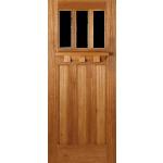 30 x 78 Unglazed Tuscany Hardwood Door