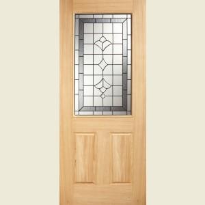 32 x 80 Glazed Winchester Oak Door