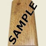 Antique Oak Floor Trim Sample