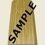 Fast Fit Oak Floor Trim Sample
