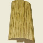 Fast Fit Oak Ramp Threshold Strip