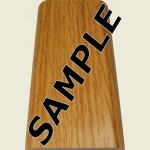 Light Oak Floor Trim Sample
