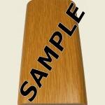 Oak Floor Trim Sample