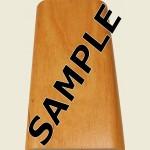 Red Alder Floor Trim Sample