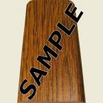Rustic Oak Floor Trim Sample