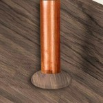 Quick-Step Dark Grey Varnished Oak 22mm Pipe Rose