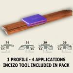 Quick-Step Enhanced Merbau Multi Profile
