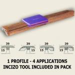 Quick-Step Oak Colonial Planks Multi Profile