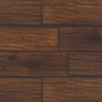Country Dark Varnished Oak Planks Flooring Sample
