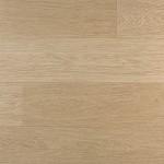 Largo White Varnished Oak Flooring Sample