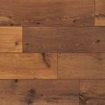 Perspective 4V Vintage Oak Dark Varnished Flooring Sample