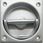 76mm Square Flush Pull And Turn Handle SC